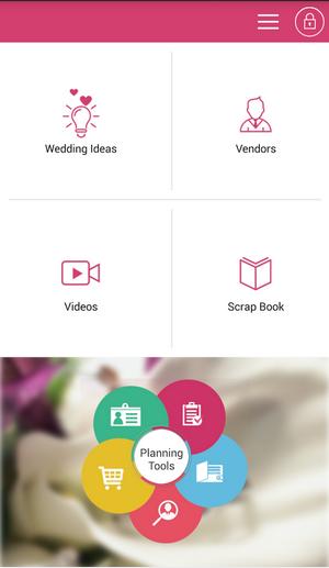 Planshaadi Android app Dashboard
